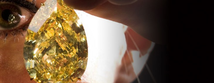 Sun-Drop Diamond – The World's Largest Yellow Diamond Sells for $10.91 Million