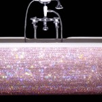 Swarovski Crystal Baby Bathtub For Beyonce`s Baby Girl