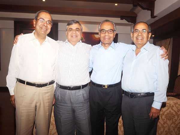 The Hinduja Brothers: Prakash, Ashok, Srichand and Gopichand