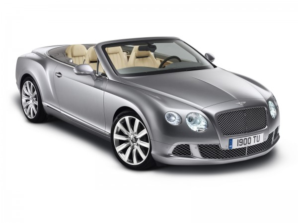 The New 2012 Bentley Continental GTC