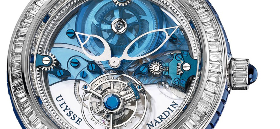 Ulysse Nardin Unveils $1.1 Million Royal Blue Tourbillion Watch