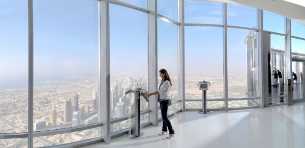 View from at the Top from Burj Khalifa
