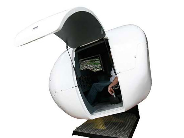 OVO-4 Home Flight Simulator by Virtual Fly