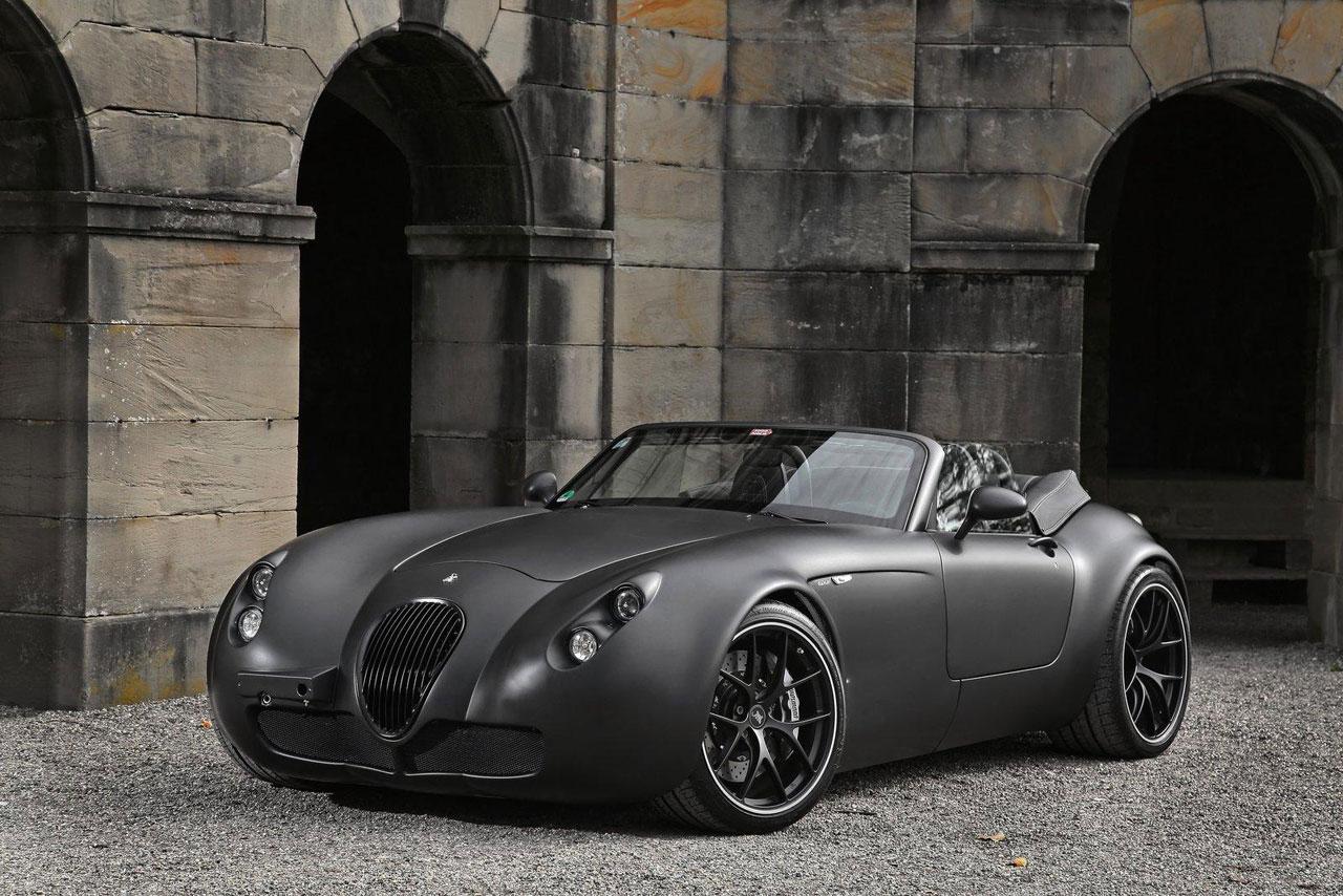 wiesmann black bat mf5 roadster in stealth finish extravaganzi. Black Bedroom Furniture Sets. Home Design Ideas