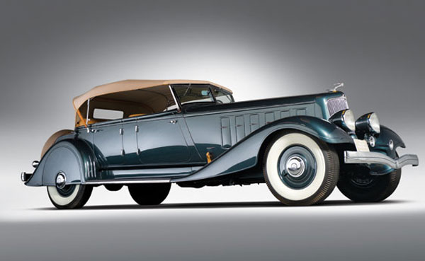 1933 Chrysler Custom Imperial Five Passenger Phaeton