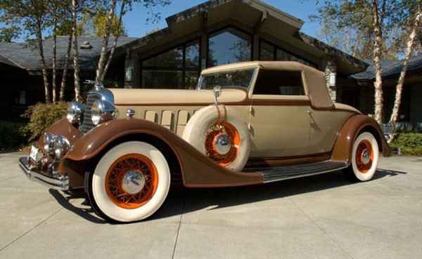 1934 Lincoln Model KB Convertible Roadster