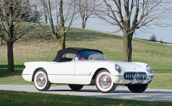 Exceptional 1953 Corvette, Chassis No. 5, Highlights RMAuctions Arizona Corvette Selection