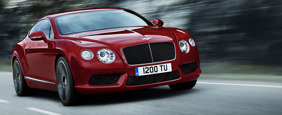 2012 Bentley Continental GT V8 to Debut at Detroit Auto Show