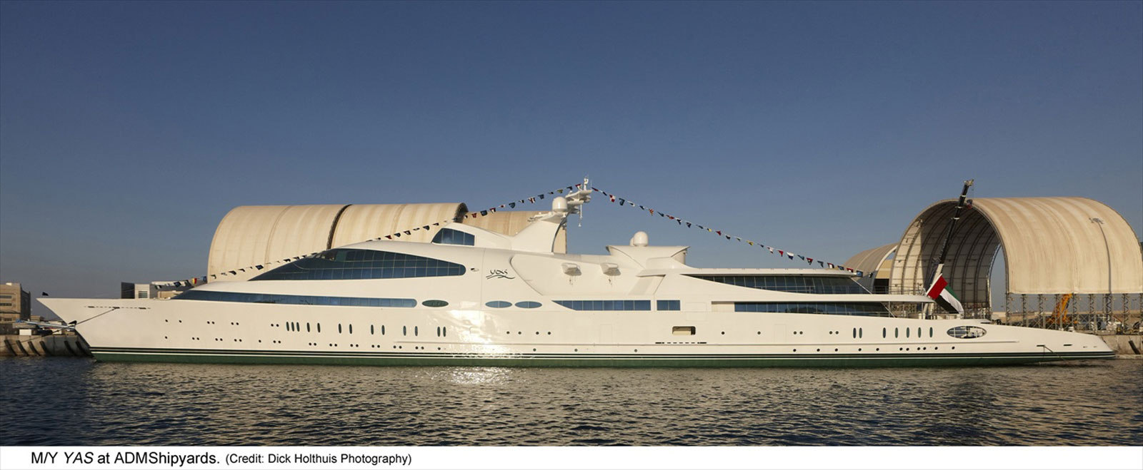 ADM Shipyards Launches Yay Supeyacht &#8211; Worlds 6th Largest Yacht