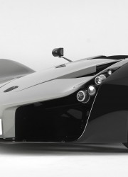 Limited edition BAC Mono single-seater race car