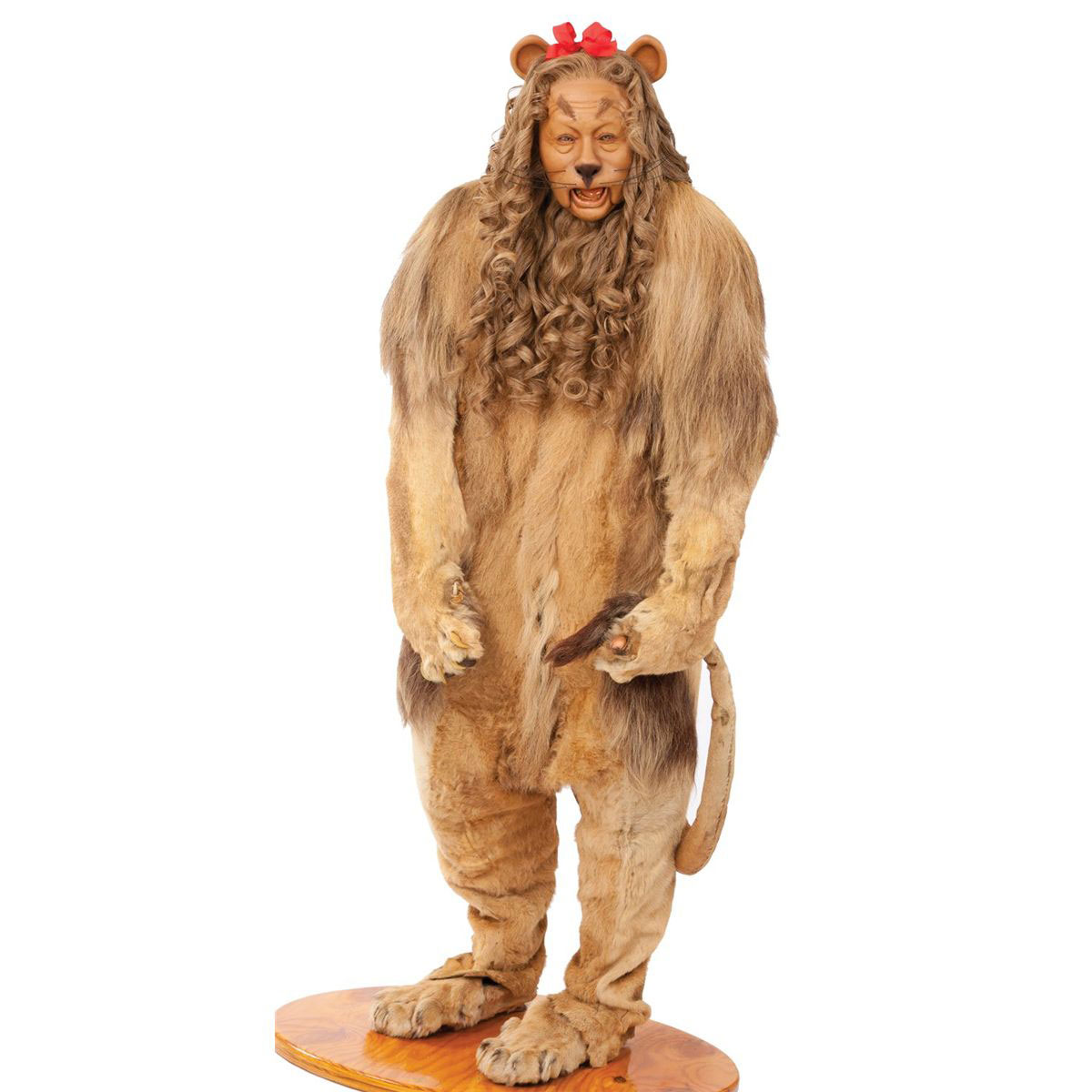 Real cowardly lion costume - photo#1