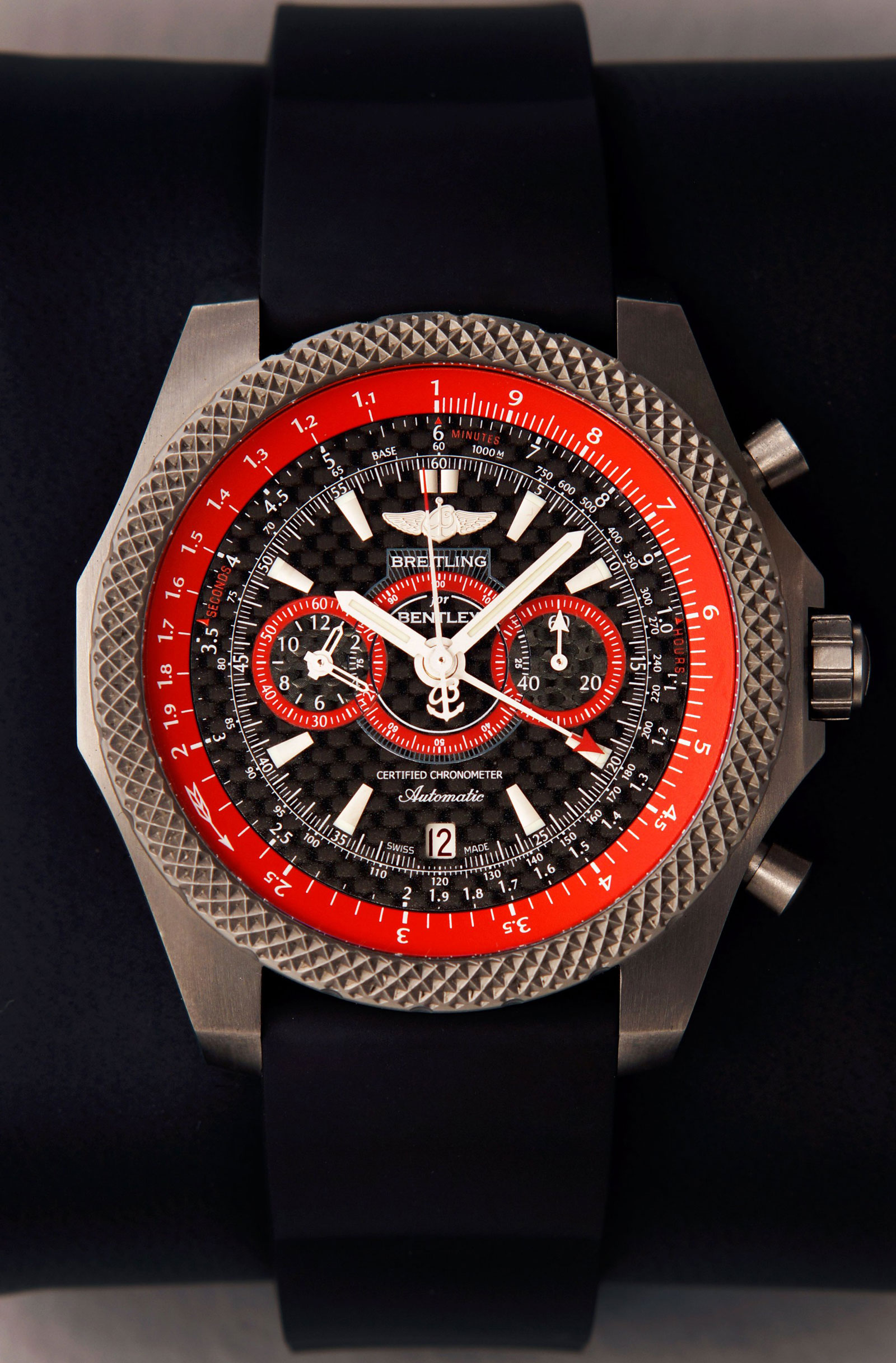 breitling for bentley supersports ice speed record watch. Cars Review. Best American Auto & Cars Review