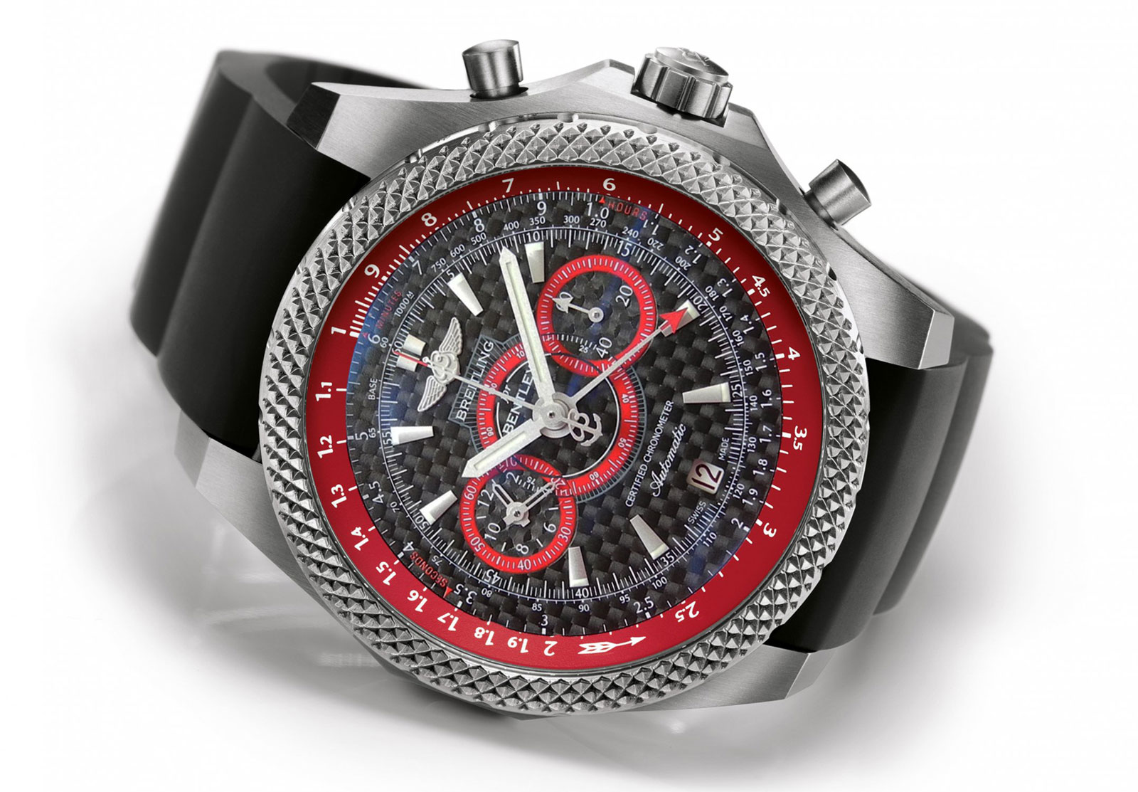 breitling for bentley supersports ice speed record watch extravaganzi. Black Bedroom Furniture Sets. Home Design Ideas