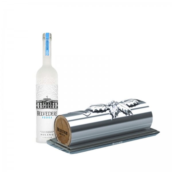 Buche de Belvedere Vodka for Christmas 2011