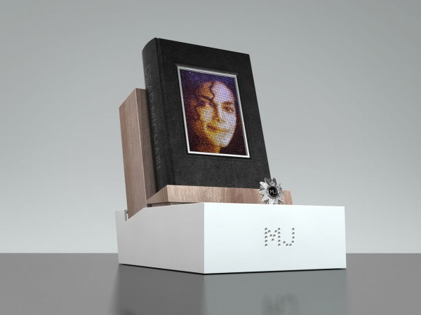 Dear Michael Limited Edition Book with Swarovski-studded Michael Jackson portrait