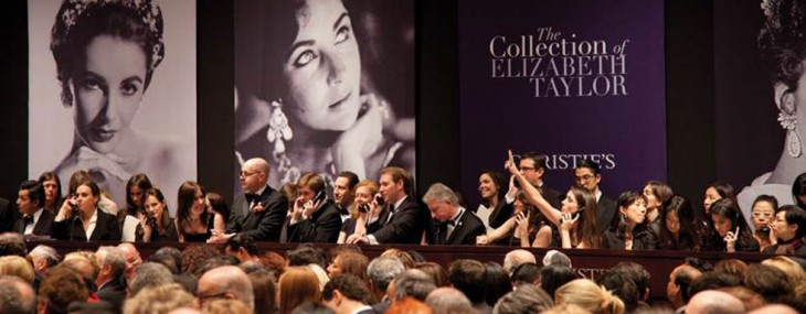 Elizabeth Taylor Jewelry Auction