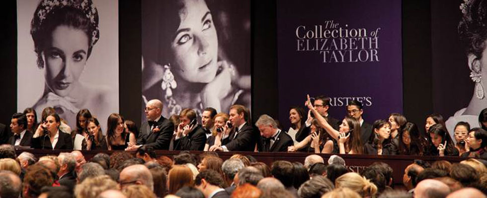 Elizabeth Taylor's Jewelry Sells for Record $116 Million at Auction