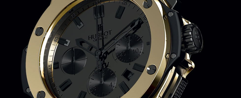 Hublot Presents Scratch Resistant Magic Gold Watches