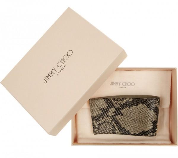 Jimmy Choo's Coffee Cup Sleeve