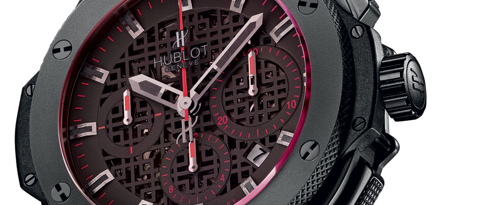 The Art of Fusion – Limited Edition Hublot Jet Li Watch