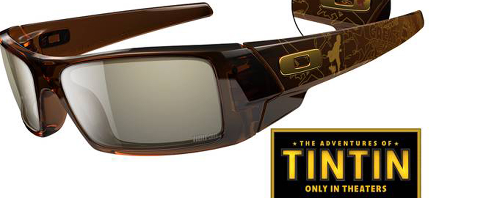 Limited Edition The Adventures of Tintin 3D Gascan Glasses