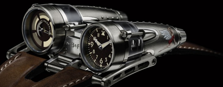 MB&F HM4 Double Trouble and Razzle Dazzle Watches