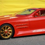 Gold and Ruby-encrusted Mercedes SLR McLaren on Sale for $11 Million