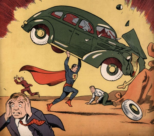 Nicolas Cage's Copy Of Action Comics #1 Sells For A Record Breaking Price