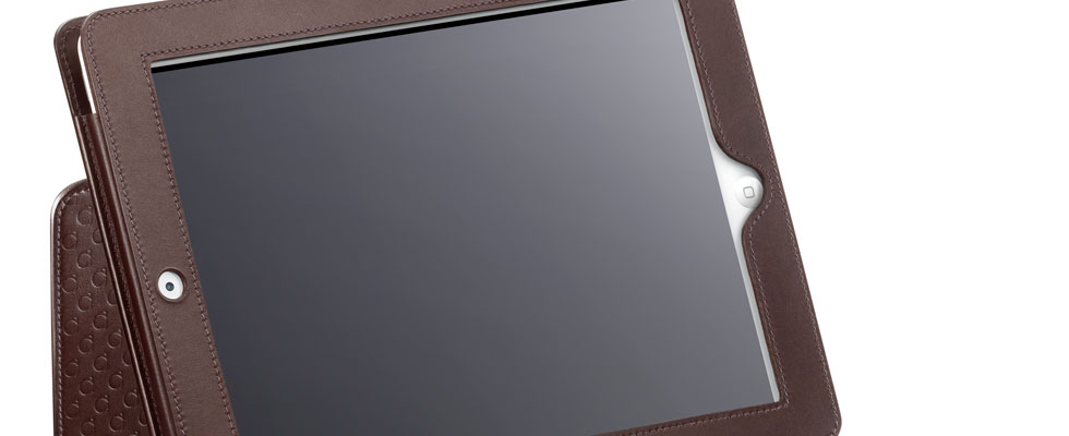 OMEGA iPad 2 Leather Case