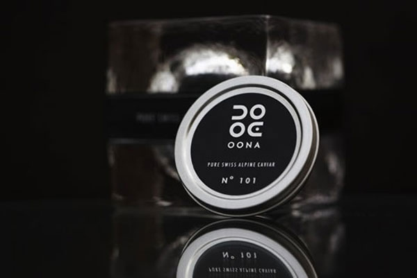 Oona - Extraordinary Swiss-made Caviar
