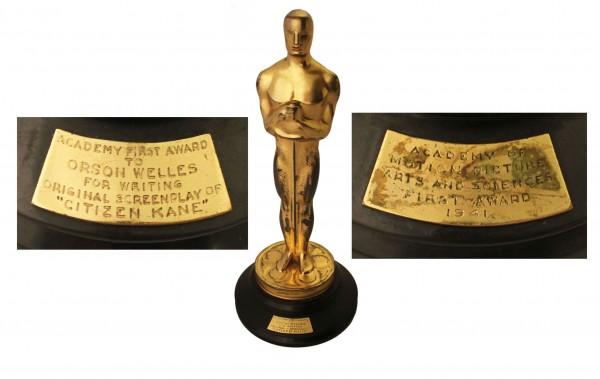 Orson Welles' Citizen Kane Oscar