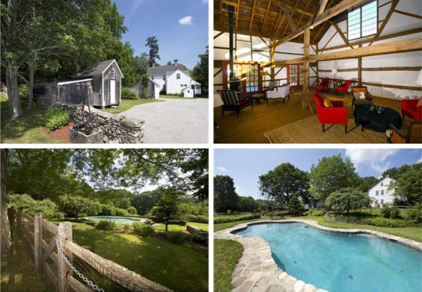 Renee Zellweger's Connecticut Farmhouse