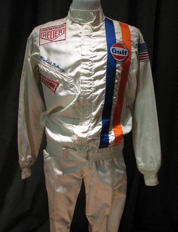 Steve McQueen Le Mans Racing Suit
