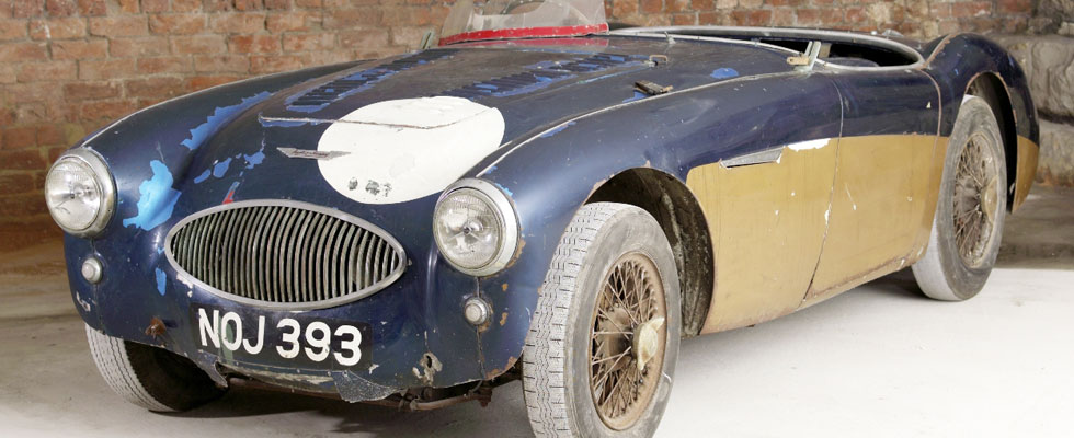1953 Austin-Healey 100 Special Test Car Sold for $1.3 Million