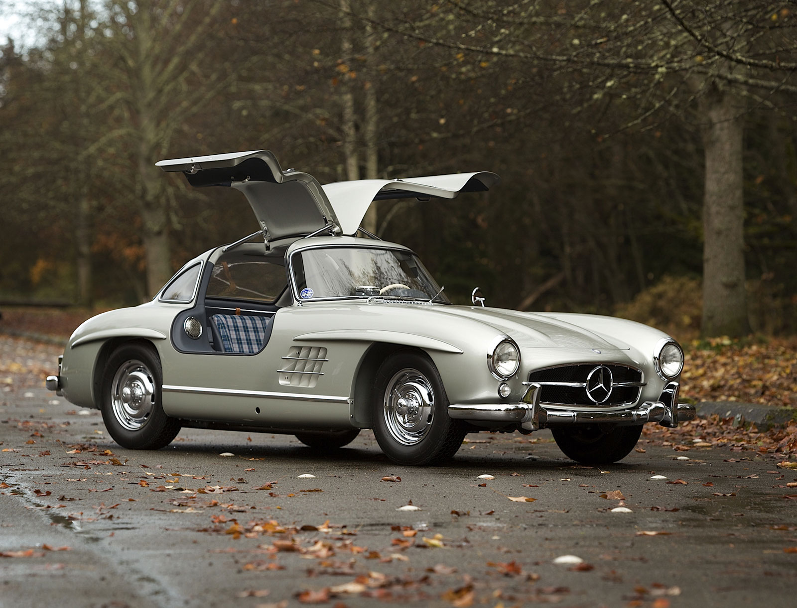 1955 mercedes benz 300sl alloy gullwing sells for million extravaganzi. Black Bedroom Furniture Sets. Home Design Ideas