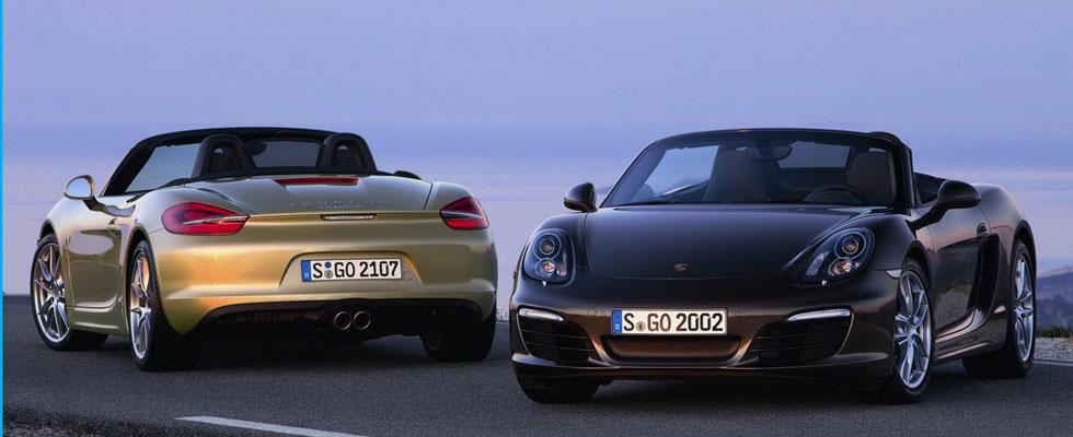 2013 Porsche Boxster S and Porsche Boxster