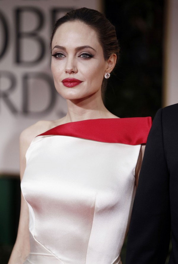 Angelina Jolie at Golden Globe Awards