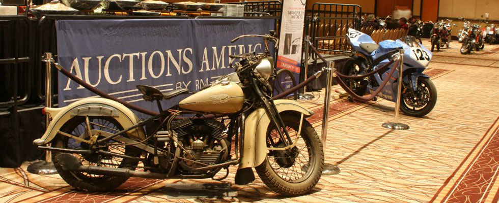 Strong Results and Attendance Highlight Auctions America by RM's Las Vegas Premier Motorcycle Auction