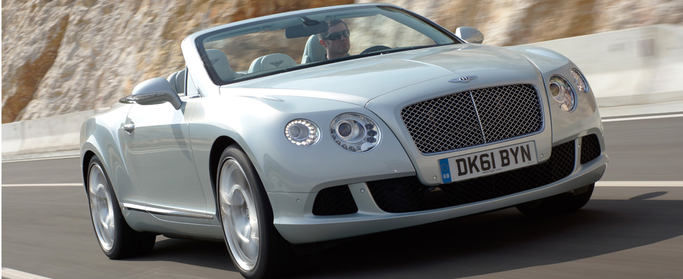 Bentley at The Qatar Iinternational Motor Show