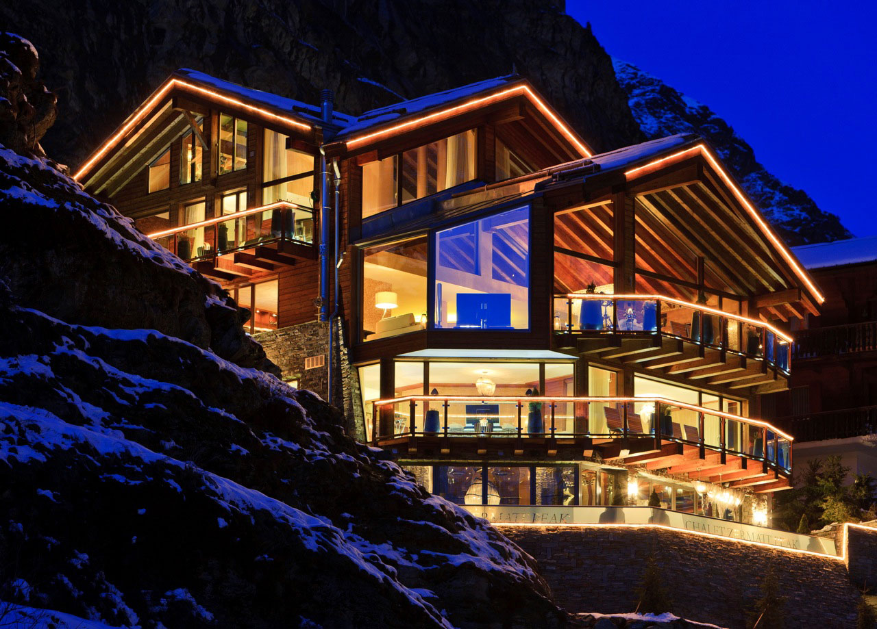 Chalet Zermatt Peak Luxury Catered And Serviced Chalet