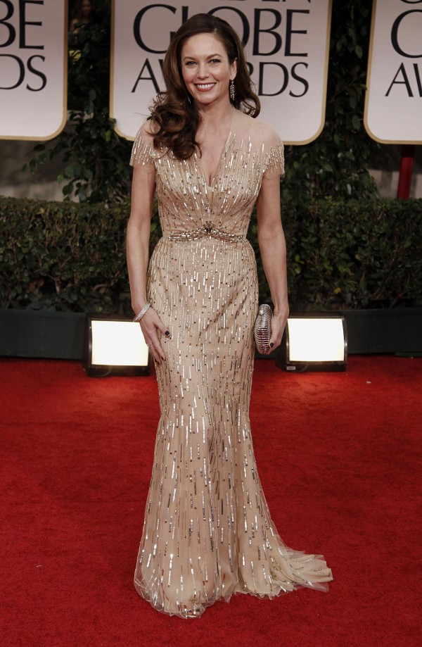 Diane Lane at Golden Globe Awards