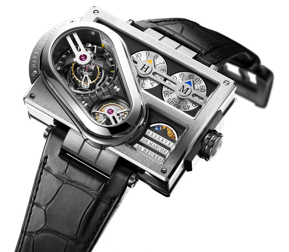 Harry-Winston-Histoire-de-Tourbillon-3-Watch  Harry Winston – modern jewellery design born in NY Harry Winston Histoire de Tourbillon 3 Watch 2