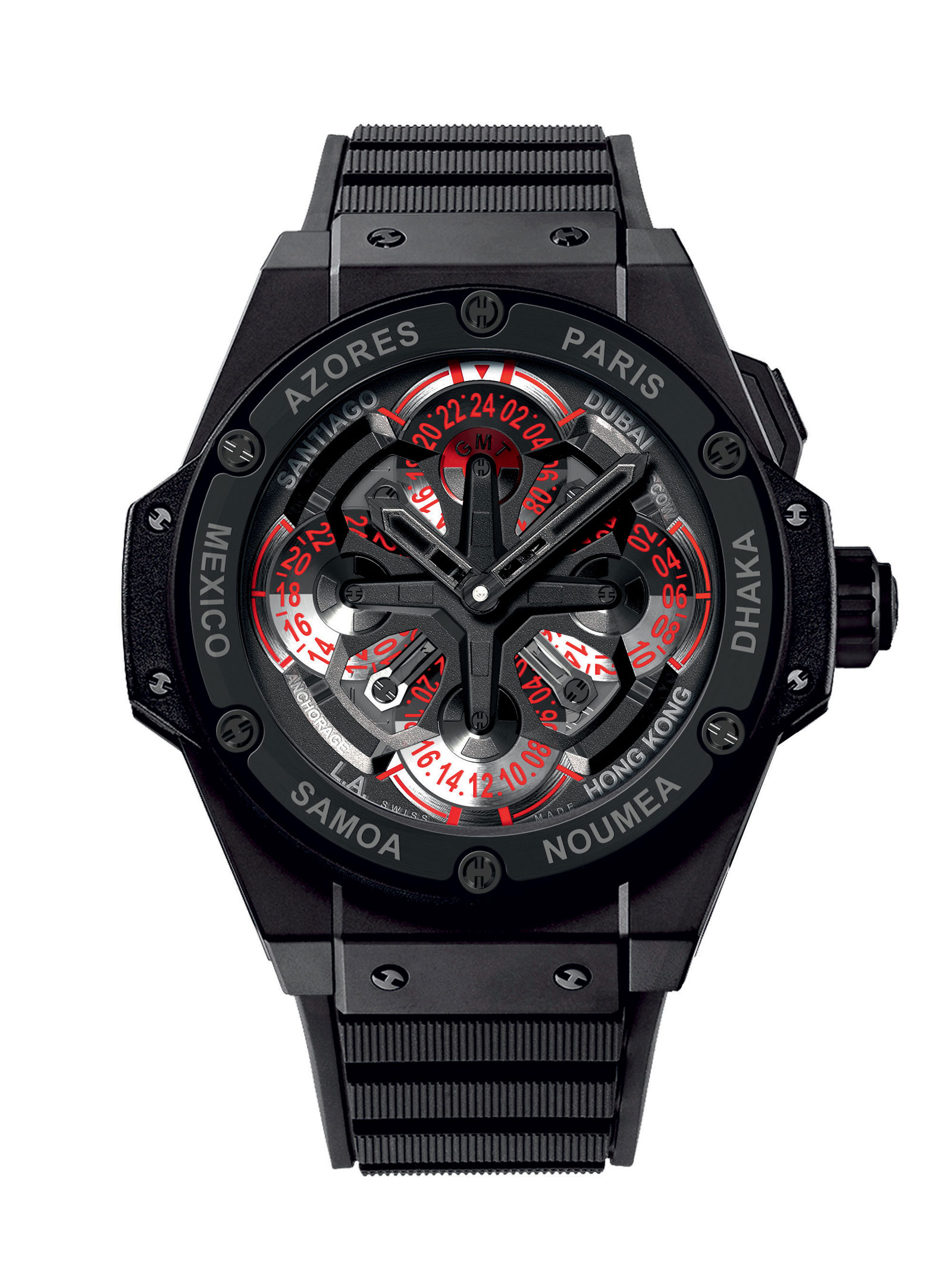 hublot king power unico gmt extravaganzi