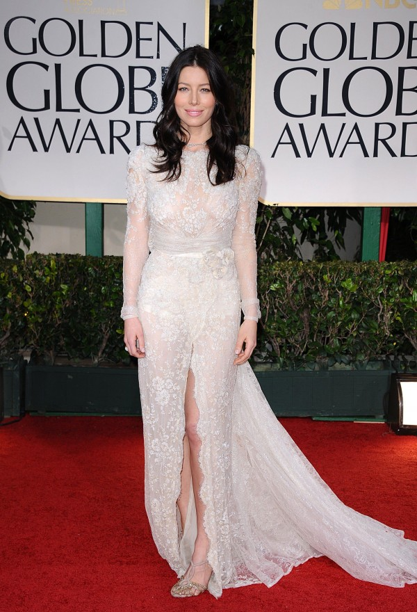 Jessica Biel at Golden Globe Awards