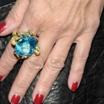 Real Housewife Jill Zarin Shows off her Elizabeth Taylor $19,000 Zohrab Ring