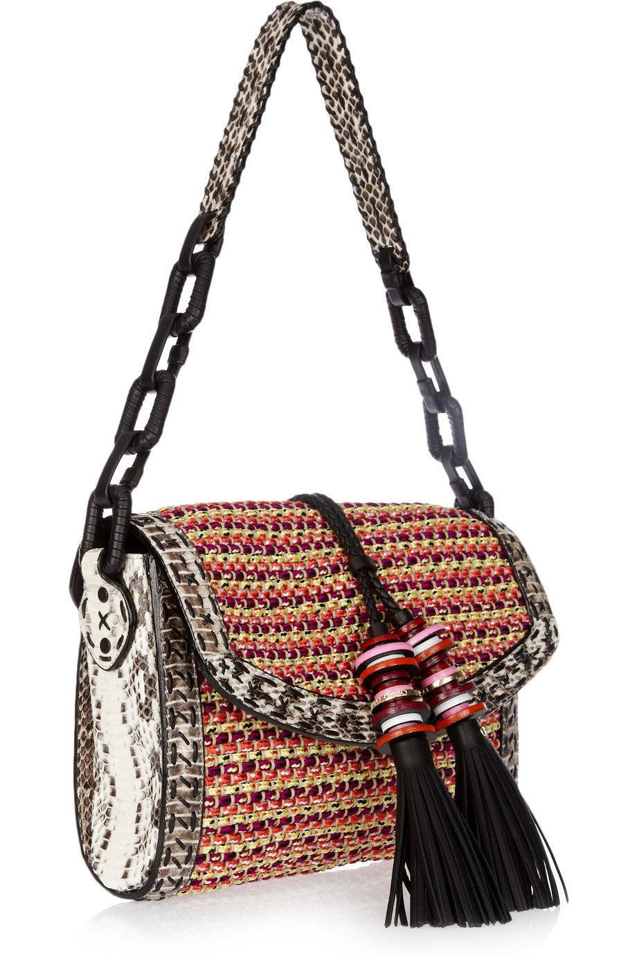 Woven Shoulder Bag 26