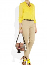 Jimmy Choo Laura Elaphe-trimmed Woven Cord Shoulder Bag