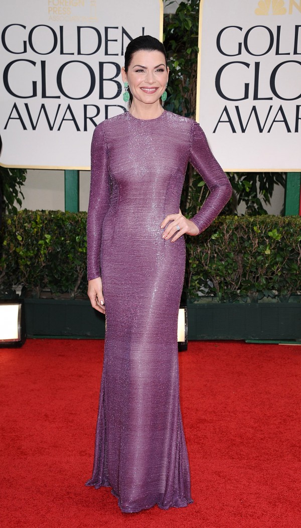 Julianna Margulies at Golden Globe Awards