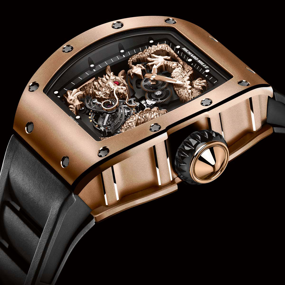 Limited Edition Richard Mille Rm 057 Dragon Jackie Chan