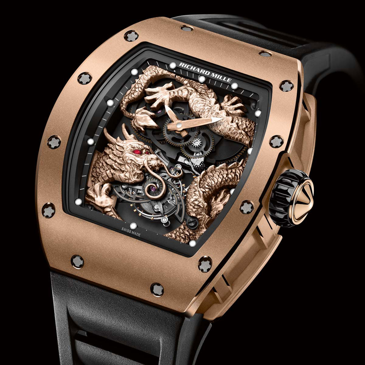 Limited Edition Richard Mille RM 057 Dragon Jackie Chan Watch EXtravaganzi